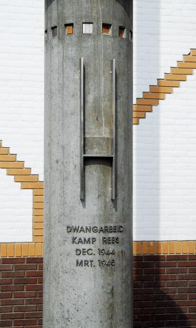 Een kaal monument