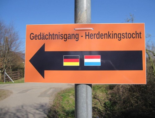 Herdenkingstocht Megchelen-Rees-Megchelen op zondag 08-03-2020.