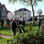 Bloemen namens de gemeente Oude IJsselstreek