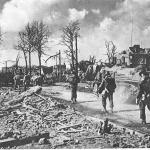 Operatie Plunder, foto Hemkundekring Rijnwaarden, d.d. 01-04-1945