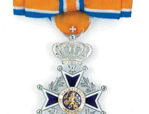 Wilma Assink krijgt een Koninklijke Onderscheiding